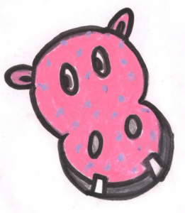 Pinky The Polka Dotted Philosophy Hippo